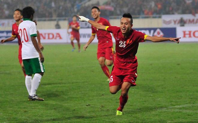 Ghi bàn nhấn chìm Singapore, Hà Đức Chinh san bằng cột mốc lịch sử tại SEA Games - Ảnh 1.