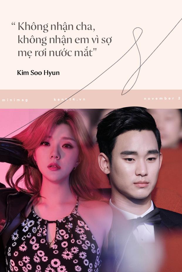 Góc khuất cuộc đời Kim Soo Hyun: Mẫu nội y thành tài tử đắt giá, khổ sở vì người nhà và chuyện cô em gái cùng cha khác mẹ - Ảnh 14.