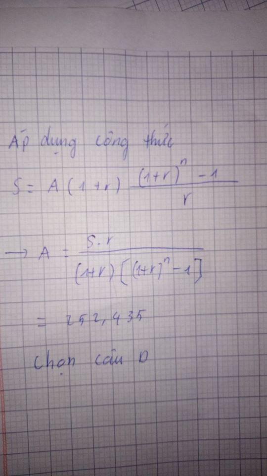 Bị lên bảng làm bài toán lãi suất ngân hàng, nam sinh bí quá điền luôn 1 dòng nghe vô lý nhưng ai cũng thấy thuyết phục - Ảnh 3.