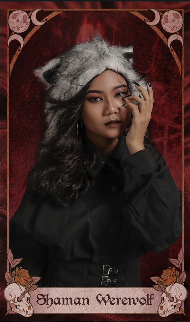 Lấy ý tưởng chụp kỷ yếu từ trò ma sói, dàn nữ sinh cấp 3 được dân mạng rần rần khen ngợi vì quá sáng tạo, thần thái đỉnh cao - Ảnh 7.