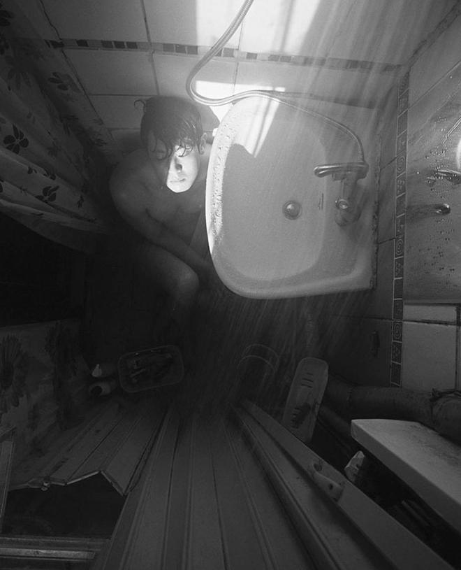 Bộ ảnh lột tả sự thật trần trụi về một tầng lớp người Hàn Quốc sống trong những căn nhà hộp chật chội, tù túng đến nghẹt thở - Ảnh 6.