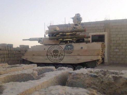 Hé lộ robot chiến đấu của Nga ở Syria khiến Mỹ - Thổ toát mồ hôi hột - ảnh 2
