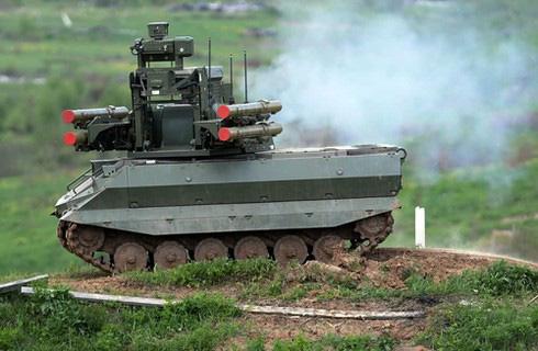 Hé lộ robot chiến đấu của Nga ở Syria khiến Mỹ - Thổ toát mồ hôi hột - ảnh 3