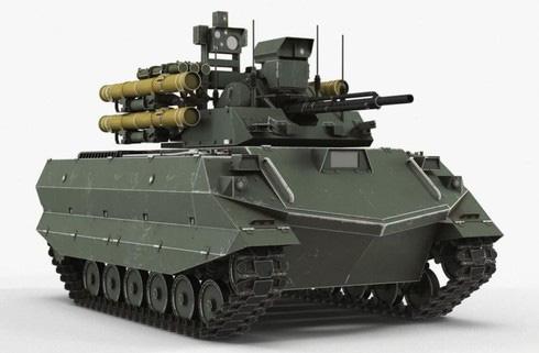 Hé lộ robot chiến đấu của Nga ở Syria khiến Mỹ - Thổ toát mồ hôi hột - ảnh 4