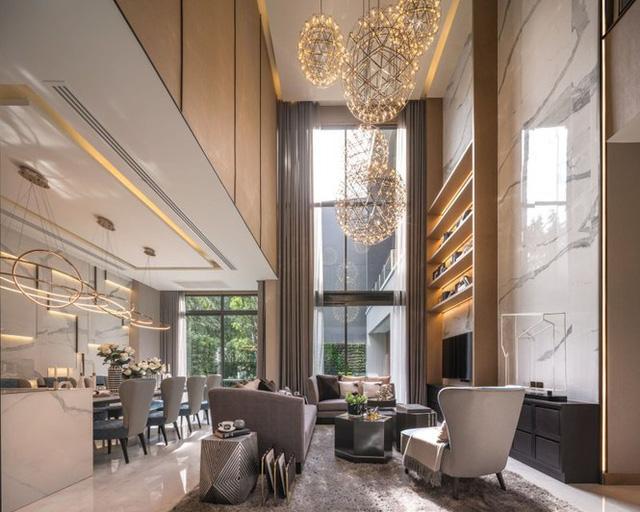 Biệt thự 3 tầng có gác lửng đẹp miễn chê - Ảnh 3.