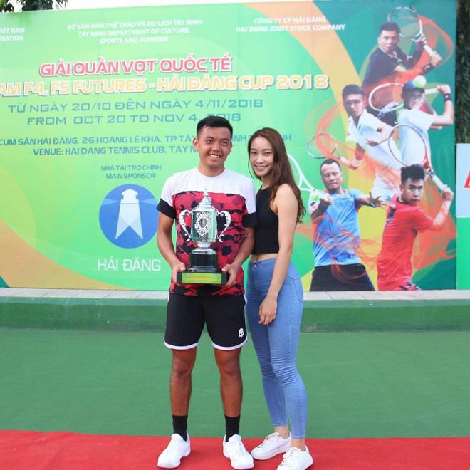 Bạn gái xinh đẹp của hot boy quần vợt Lý Hoàng Nam: Cao 1m72, thần thái không chê vào đâu được - ảnh 8
