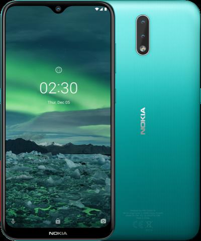 Nokia 2.3 ra mắt: Pin trâu, Android gốc, giá rẻ - Ảnh 1.