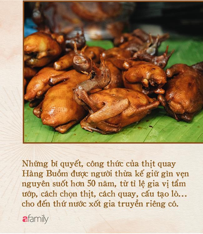Bí mật thành công của hàng thịt quay lâu đời nhất Hà Nội, hơn 50 năm vẫn khiến khách xếp hàng dài như trẩy hội mỗi chiều - Ảnh 3.