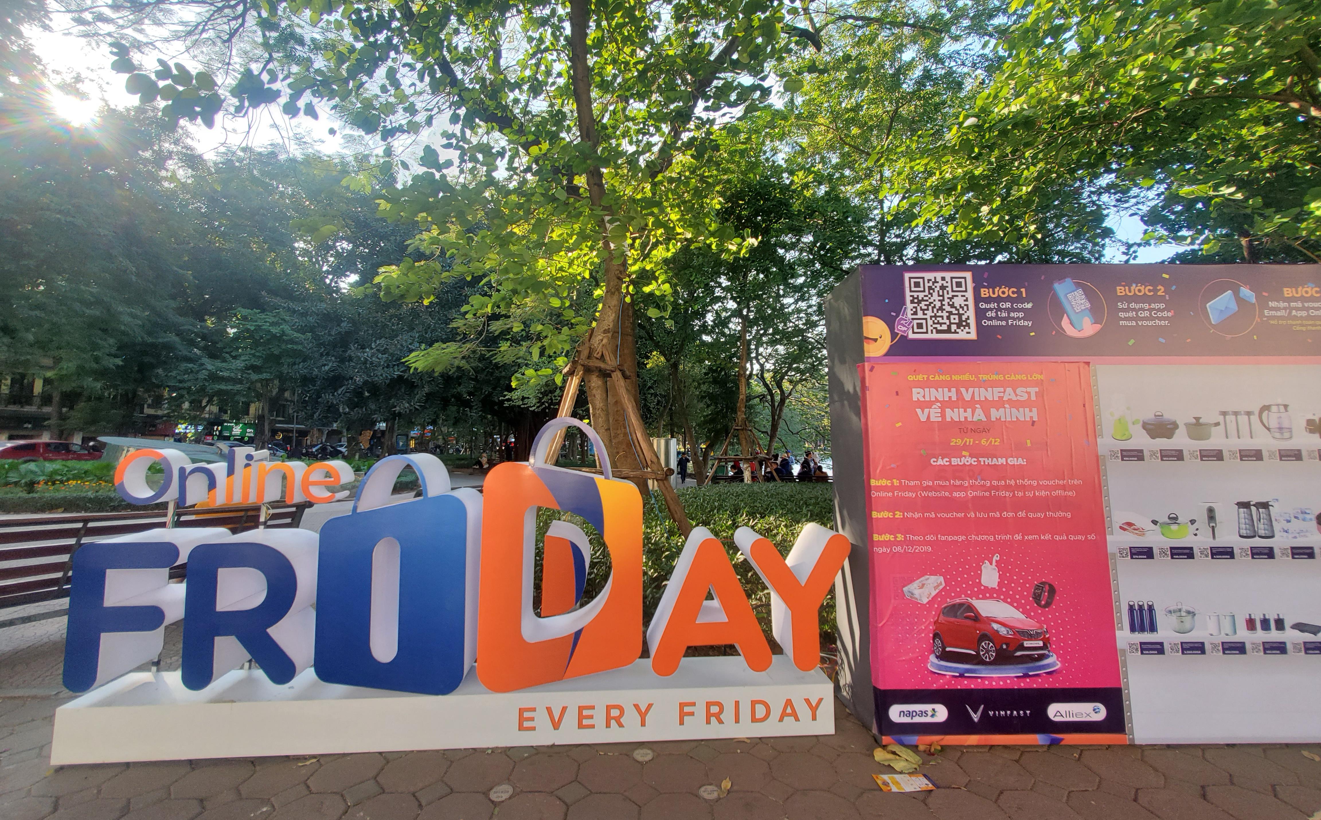 Online Friday 2019: 600.000 lượt quét QR, 25.000 đơn voucher thành công sau nửa ngày