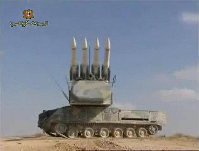 Hình ảnh sát thủ phòng không tầm trung Buk-M2E của Syria bị tấn công phá hủy - Ảnh 14.