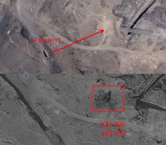 Hình ảnh sát thủ phòng không tầm trung Buk-M2E của Syria bị tấn công phá hủy - Ảnh 6.