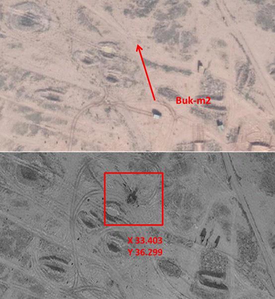 Hình ảnh sát thủ phòng không tầm trung Buk-M2E của Syria bị tấn công phá hủy - Ảnh 7.