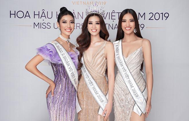 Thu Minh phấn khích khi đoán đúng Hoa hậu Hoàn vũ Việt Nam - Ảnh 1.