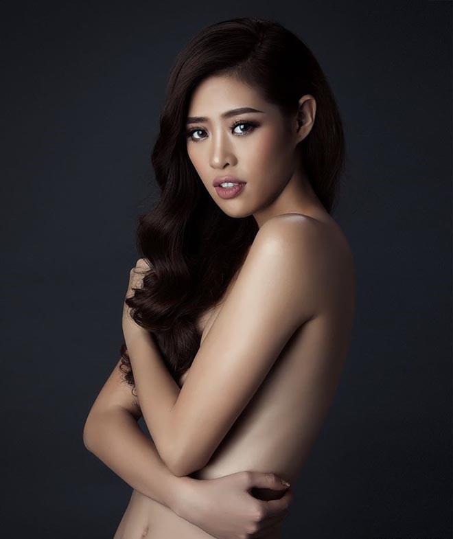 Lộ ảnh bán nude của Hoa hậu Hoàn vũ Việt Nam Khánh Vân - Ảnh 2.