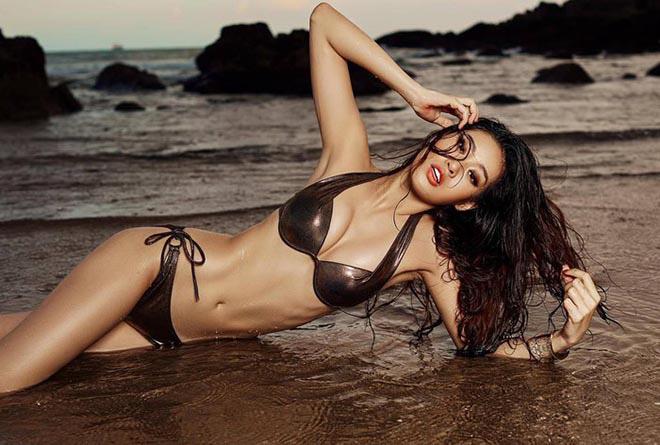 Lộ ảnh bán nude của Hoa hậu Hoàn vũ Việt Nam Khánh Vân - Ảnh 5.