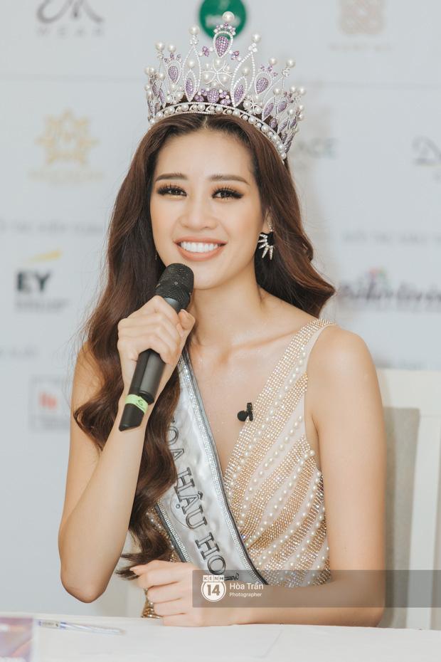 Cận cảnh nhan sắc Top 3 Hoa hậu Hoàn vũ Việt Nam 2019: Khánh Vân tỏa sáng với gương mặt thánh thiện, 2 nàng Á hậu đáng gờm - Ảnh 3.