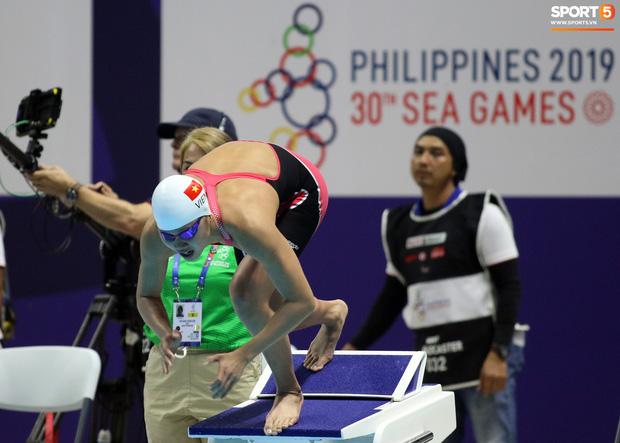 Mặt buồn xo nhận HCV thứ 5 tại SEA Games 2019, Ánh Viên bị nhắc nhở - Ảnh 1.