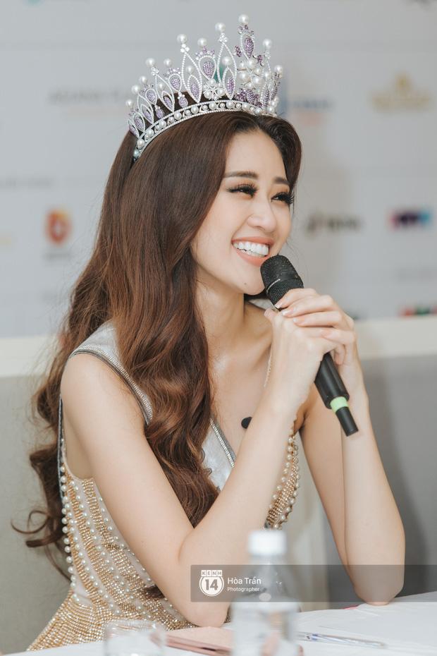 Cận cảnh nhan sắc Top 3 Hoa hậu Hoàn vũ Việt Nam 2019: Khánh Vân tỏa sáng với gương mặt thánh thiện, 2 nàng Á hậu đáng gờm - Ảnh 6.