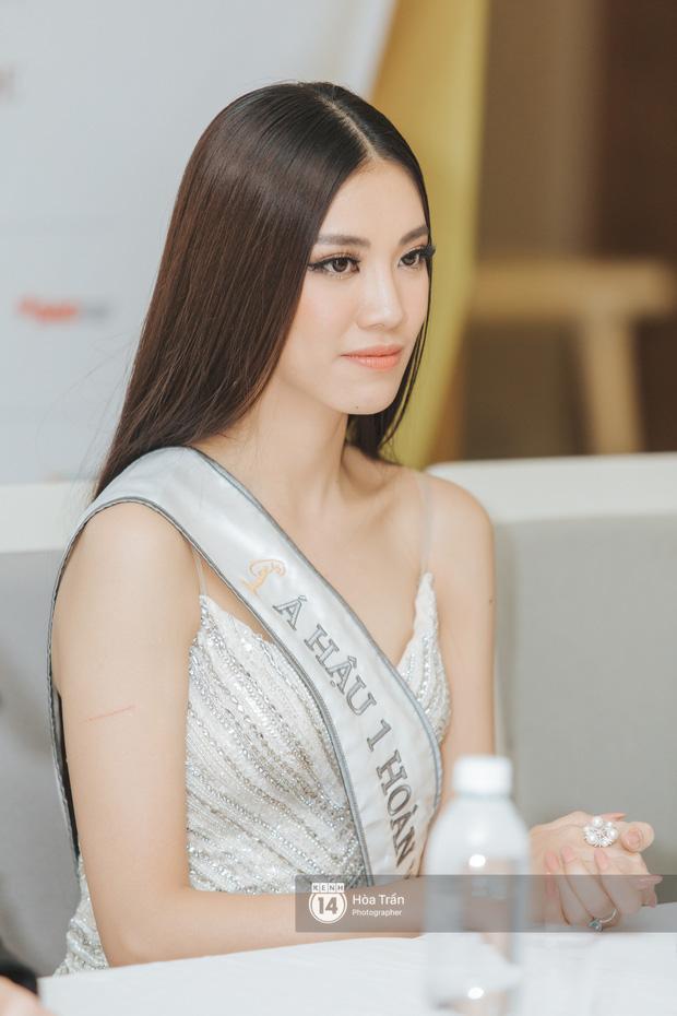 Cận cảnh nhan sắc Top 3 Hoa hậu Hoàn vũ Việt Nam 2019: Khánh Vân tỏa sáng với gương mặt thánh thiện, 2 nàng Á hậu đáng gờm - Ảnh 7.