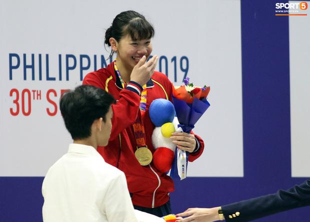 Mặt buồn xo nhận HCV thứ 5 tại SEA Games 2019, Ánh Viên bị nhắc nhở - Ảnh 7.