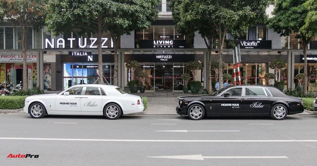 Dàn xe siêu sang trị giá gần 100 tỷ đồng tụ họp trước showroom của bạn thân ông trùm chân dài Vũ Khắc Tiệp - Ảnh 6.
