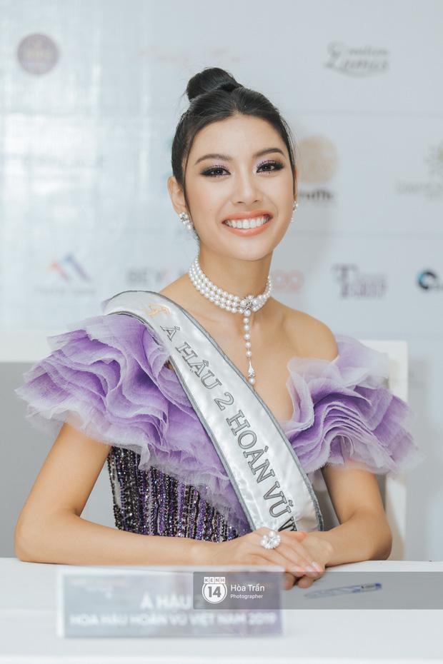 Cận cảnh nhan sắc Top 3 Hoa hậu Hoàn vũ Việt Nam 2019: Khánh Vân tỏa sáng với gương mặt thánh thiện, 2 nàng Á hậu đáng gờm - Ảnh 9.