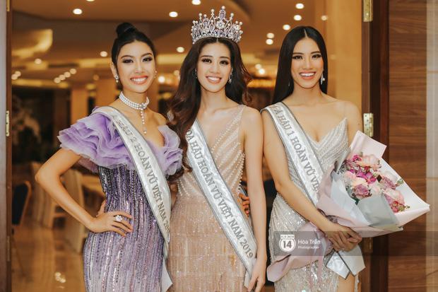 Cận cảnh nhan sắc Top 3 Hoa hậu Hoàn vũ Việt Nam 2019: Khánh Vân tỏa sáng với gương mặt thánh thiện, 2 nàng Á hậu đáng gờm - Ảnh 10.
