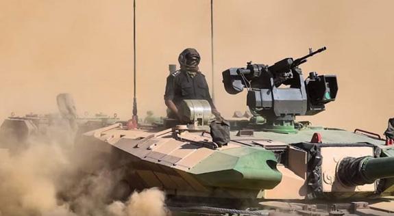 Ấn Độ nâng cấp xe tăng nội địa Arjun Mk-1A - ảnh 1