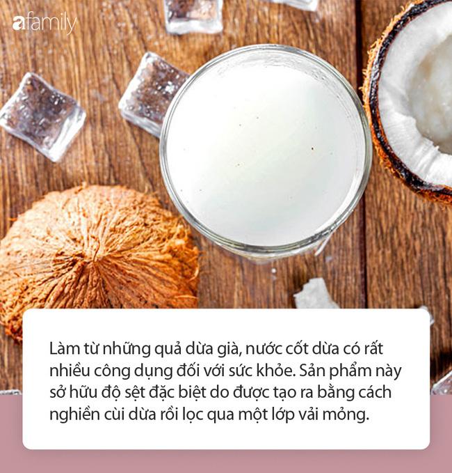 Không phải ai cũng biết những tác dụng tuyệt vời này của nước cốt dừa đối với sức khỏe - Ảnh 1.