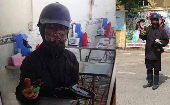 Ăn mày mặt đen xuất hiện ở trường học, phụ huynh, học sinh Hà Nội lo sợ - Ảnh 1.