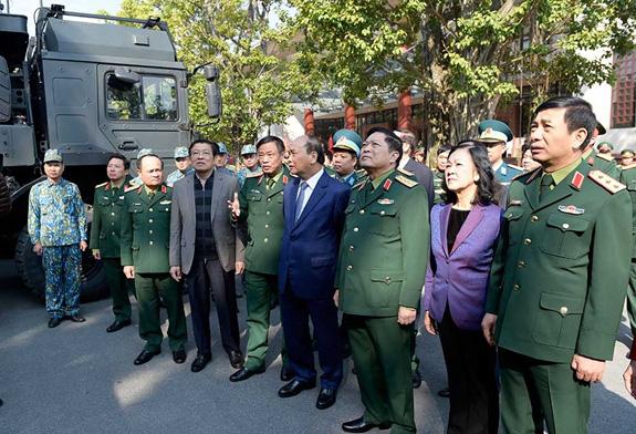 Tên lửa phòng không SPYDER Việt Nam lần đầu công khai: Tinh hoa vũ khí Israel - Ảnh 1.