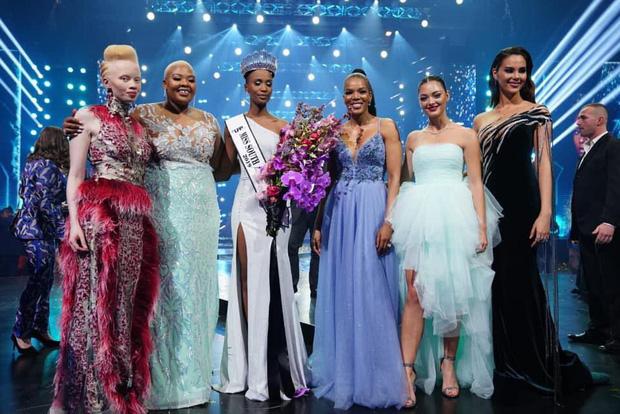Nhan sắc lạ và đầy ấn tượng của mỹ nhân Nam Phi vừa đăng quang Miss Universe 2019 - Ảnh 6.