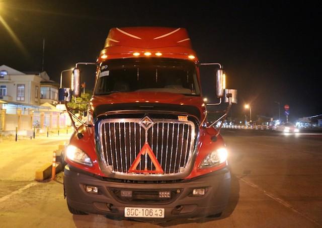 Tài xế xe container khai nhận sử dụng ma tuý để chống mệt mỏi - Ảnh 2.