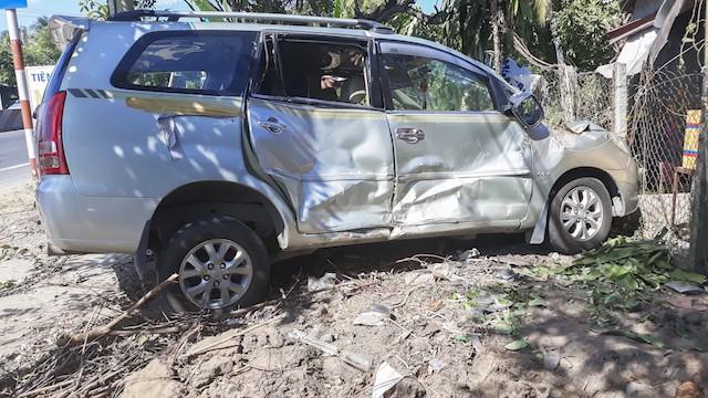 27 hành khách thoát chết khi ô tô khách mất phanh trên Quốc lộ 1 - Ảnh 2.
