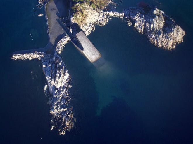 Bên trong nhà hàng dưới nước lớn nhất thế giới, nơi thực khách ngắm sinh vật biển đang bơi trong khi thưởng thức hải sản - Ảnh 1.