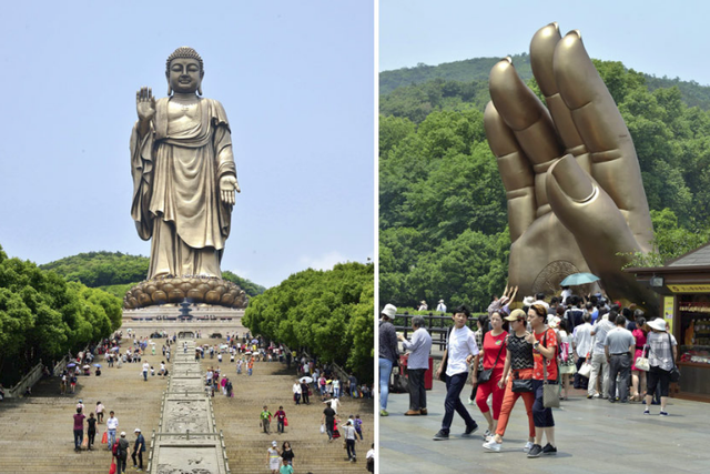 Bí ẩn đằng sau trào lưu xây các tượng Phật khổng lồ lớn nhất thế giới của Trung Quốc - Ảnh 1.