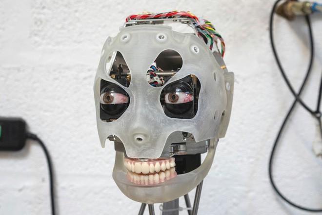Gặp gỡ Ai-Da, robot kiêm nghệ sỹ AI đầu tiên trên thế giới có thể vẽ phác họa và trò chuyện như người - Ảnh 2.