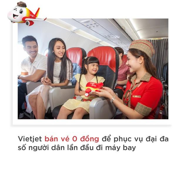 Vietjet: Hãng hàng không của người dân với vé 0 đồng - Ảnh 8.