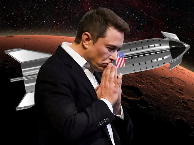 Elon Musk ủ mưu chế tạo quả tên lửa biết đổ mồ hôi để bớt nóng, khó gấp 100 lần dự án khó nhất của NASA - Ảnh 1.