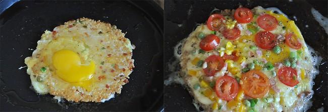 Chẳng cần lò nướng và dùng cơm nguội tôi vẫn làm được pizza cơm giòn ngon tuyệt đối - Ảnh 3.