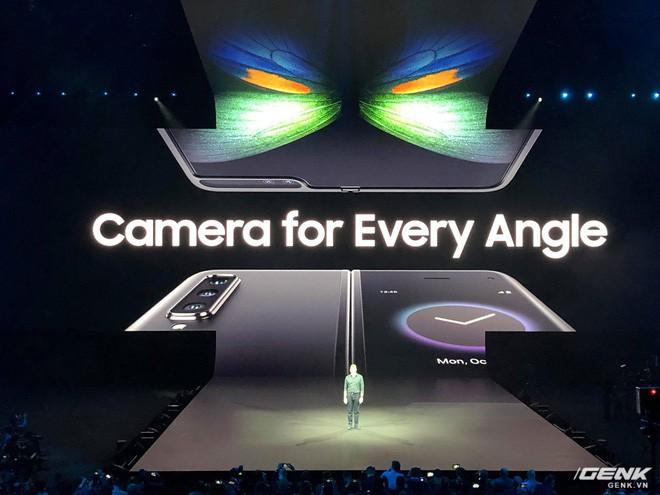 Samsung giới thiệu smartphone mở ra gập vào như cuốn sổ, 6 camera, 2 cục pin, giá 2 nghìn đô - Ảnh 3.