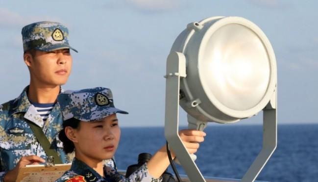 Trung Quốc thử nghiệm hệ thống chỉ huy thời chiến tại Biển Đông - Ảnh 1.
