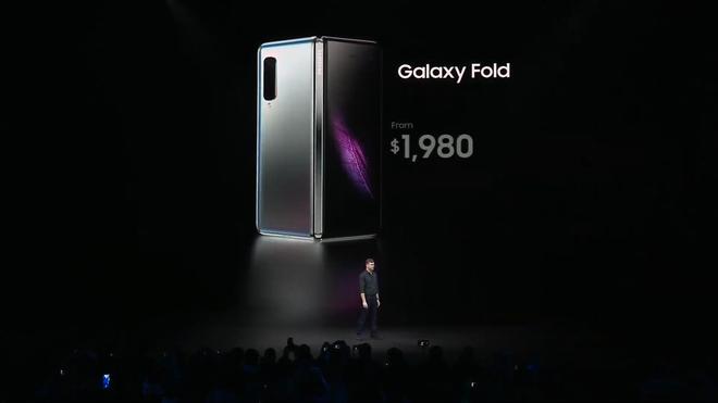 Tại sao smartphone màn hình gập Galaxy Fold có giá 1980 USD chứ không phải là một con số nào khác? - Ảnh 2.