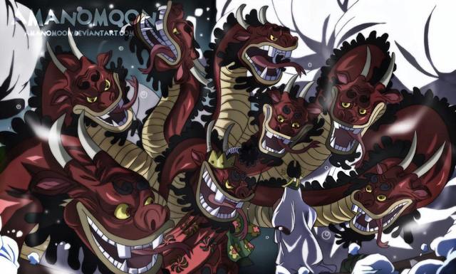 One Piece: Cuộc đời đầy bi kịch của Kaido và nguyên nhân khiến hắn giúp Orochi giết chết Oden, thâu tóm vương quốc Wano? - Ảnh 9.