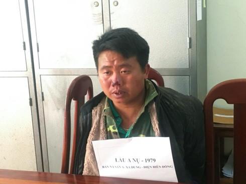 2 đối tượng mang 6 bánh heroin và súng đã lên đạn sa lưới ở Điện Biên - Ảnh 1.