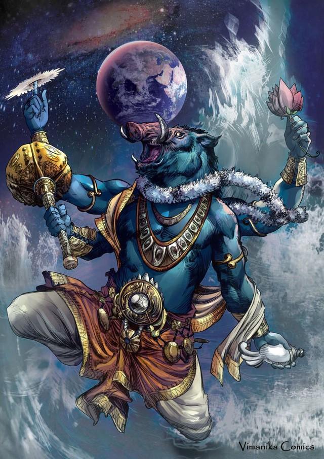Trư Bát Giới đã là gì, đây mới là 5 Thần Trư hùng dũng trong thế giới thần thoại - Ảnh 1.