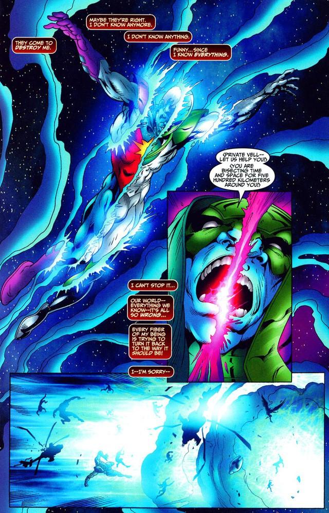 Genis-Vell, Captain Marvel quyền năng nhất thế giới siêu anh hùng sở hữu sức mạnh kinh khủng như thế nào? - Ảnh 12.