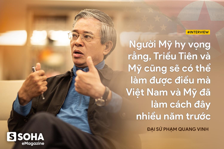 Đại sứ Phạm Quang Vinh: Khả năng có một tuyên bố lớn được đưa ra trong Thượng đỉnh Mỹ-Triều lần này là rất cao - Ảnh 5.