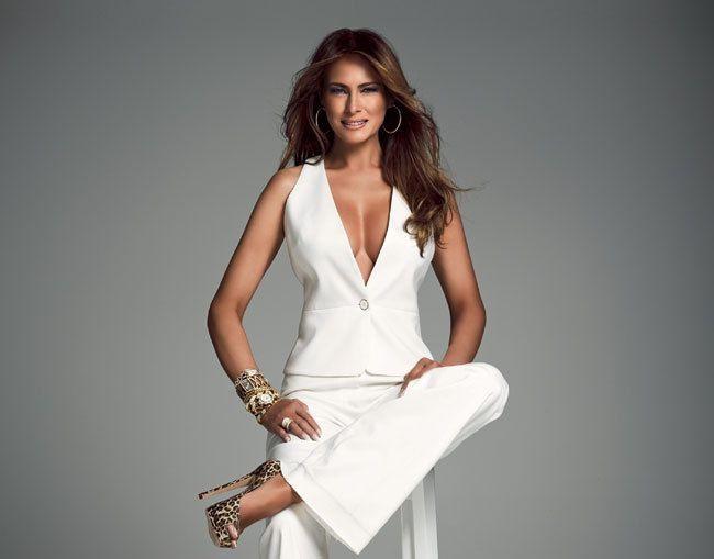 Vẻ đẹp nóng bỏng của vợ Tổng thống Donald Trump, đệ nhất phu nhân thời thượng bậc nhất nước Mỹ - Ảnh 4.