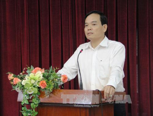 Bí thư Tỉnh uỷ Tây Ninh Trần Lưu Quang về TP HCM thay ông Tất Thành Cang - Ảnh 1.